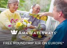 Free Roundtrip Airfare on 2019 Europe Sailings!