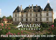 FREE Roundtrip Airfare on 2018 Europe Sailings!