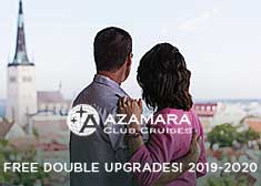 Free Double Upgrades on 2019-2020 Sailings!