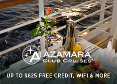 Avoya Advantage Exclusive – Up to $625 Free Onboard Credit, Buy One Get One 50% Off Cruise Fares PLUS Free Unlimited Internet!