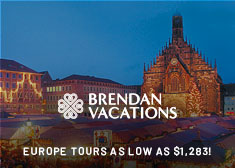 2019 Europe Escorted Tours as low as $1,283!