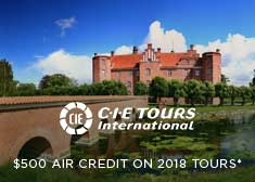 $500 Air Credit on 2018 Escorted Tours!