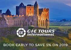 Book Early and Save 5% on 2019 Ireland, Scotland, and Britain Escorted Tours!