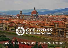 President's Day Flash Sale – Save 10% on 2019 Europe Escorted Tours!