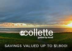 Exclusive Wave Sale – Savings valued up to $1,800 on Escorted Tours Worldwide!
