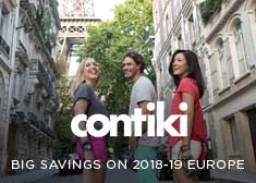 Save 10% on 2018-2019 Europe Escorted Tours!