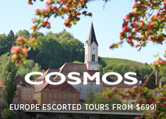 2019 Europe Escorted Tours from $699!