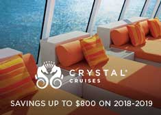 Book Now Savings – Save up to $800 on 2018-2019 Ocean Sailings!