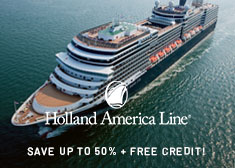 Exclusive World's Largest Cruise Sale – Up to $875 Free Onboard Credit, Free Specialty Dinner, Free Internet Package, Free Beverage Card, Free 4-Night Resort Stay PLUS More!
