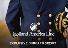 Holland America Line Deal
