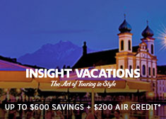 Avoya Advantage Exclusive – Save up to $600, $200 Air Credit PLUS Additional 5% Savings on 2019-2020 Escorted Tours!