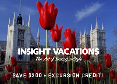 Exclusive World's Largest Vacation Sale – Savings and Free Perks valued up to $2,811 on 2019-2020 Escorted Tours!