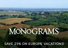 Wanderlist – Save 25% on 2019 Europe Independent Vacations!