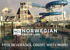 Exclusive World's Largest Cruise Sale – Unlimited Open Bar, Free Shore Excursion Credit PLUS up to $150 Free Onboard Credit AND More!