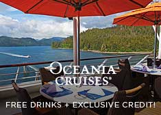 Avoya Advantage Exclusive – 2-for-1 Cruise Fares, Free Beverage Package, Free Unlimited Internet PLUS Free Gratuities or $200 Free Onboard Credit!