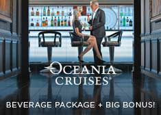 OLife Choice Exclusive – 2-for-1 Cruise Fares PLUS Free Gratuities, Free Beverage Package AND Free Unlimited Internet!
