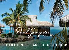 Exclusive World's Largest Cruise Sale – $200 Free Shore Excursion Credit, $200 Free Onboard Credit PLUS 50% Off Cruise Fares!