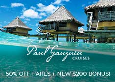 Exclusive Black Friday Sale – Free Onboard Credit PLUS 50% Off Cruise Fares!