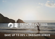 Sun-Drenched Deals Exclusive – Up to $85 Free Onboard Credit, Save up to 35%, Reduced Fares for Extra Guests PLUS More!