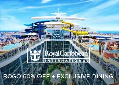 Exclusive World's Largest Cruise Sale – Free Specialty Dining, up to $200 Free Onboard Credit, Buy One Get One 60% Off Cruise Fares PLUS More!