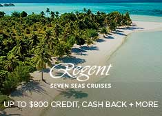 Exclusive World's Largest Cruise Sale – Up to $400 Cash Back, up to $800 Free Onboard Credit, Free Gratuities, Free Unlimited Shore Excursions PLUS More!