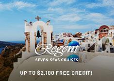 Regent Cruises Deal