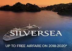 Up to Free Airfare on 2018-2020 Sailings!