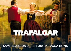 Save $500 on 2019 Europe Air-Inclusive Guided Vacations!