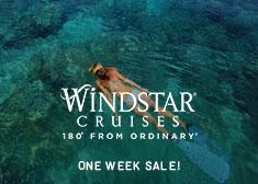One Week Sale – Fares as low as $1,199!