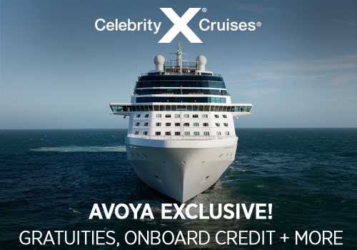 Avoya Advantage Exclusive – Free Gratuities, up to $700 Free Onboard Credit, Free Beverage Package PLUS More!