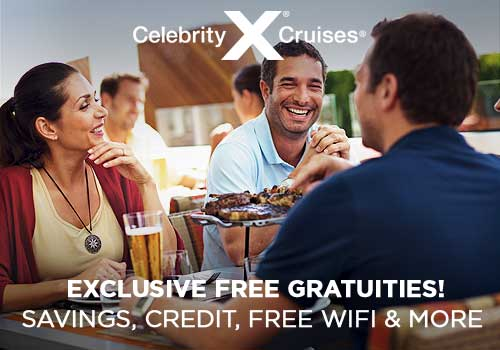 Avoya Advantage Exclusive – Free Onboard Credit, Free Gratuities, Free Beverage Package, Free Unlimited Internet PLUS More!