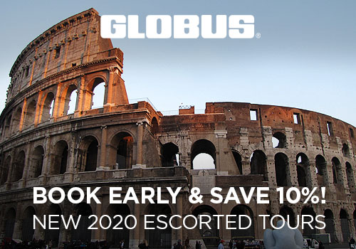 Save up to $1,612 on 2020 Escorted Tours!