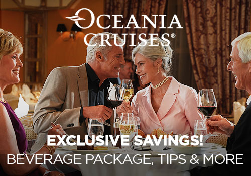 Prices Increase Soon! Avoya Advantage Exclusive – 2-for-1 Cruise Fares PLUS Unpublished Rates, Free Gratuities, Free Beverage Package AND Free Unlimited Internet!