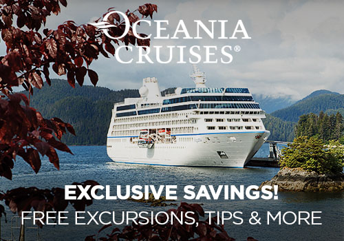Prices Increase Soon! Avoya Advantage Exclusive – 2-for-1 Cruise Fares, Unpublished Savings, Free Gratuities, Free Beverage Package, Free 4-Night Resort Stay PLUS More!