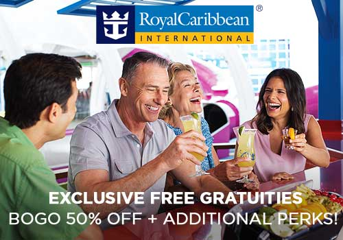 Avoya Advantage Exclusive – Free Gratuities, up to $100 Free Onboard Credit, Buy One Get One 50% Off Cruise Fares, Free Upgrades, up to $400 Instant Savings PLUS More!