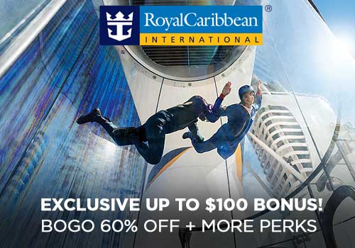 BOGO60 Exclusive – Buy One Get One 60% Off Cruise Fares, Free Onboard Credit, Free 4-Night Resort Stay PLUS More!