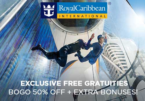 Avoya Advantage Exclusive – Free Gratuities, up to $100 Free Onboard Credit, Buy One Get One 50% Off Cruise Fares, Free Coupon Book PLUS More!
