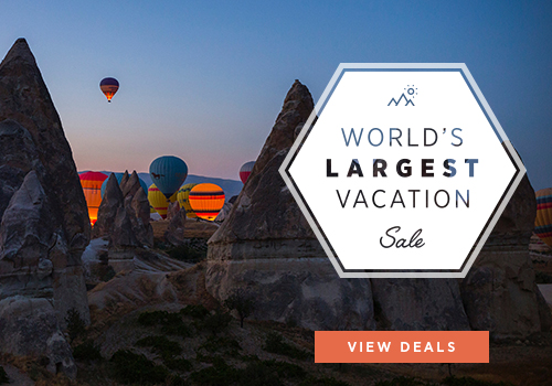 HUGE Savings During our Exclusive World's Largest Vacation Sale!