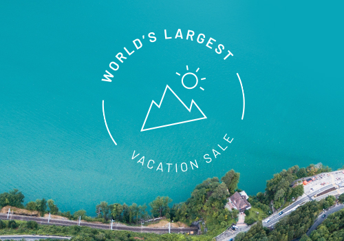 Check out our Exclusive World's Largest Vacation Sale Deals! HUGE Savings AND More!