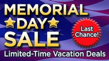 Last Chance! Avoya Travel's Memorial Day Sale