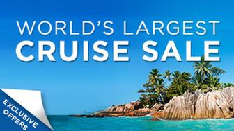 Announcing Our 2013 World's Largest Cruise Sale!