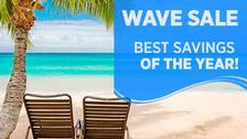 Exclusive Wave Sale: Last Call for Savings!