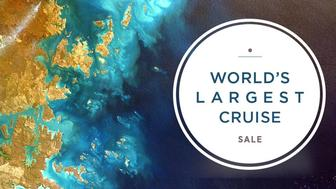 World's Largest Cruise Sale: New Luxury Deals!