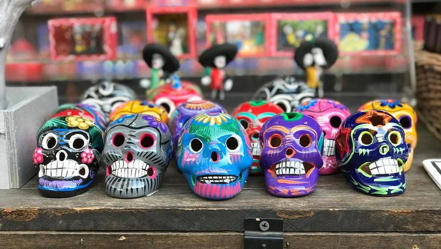 Day of the Dead in Mexico.