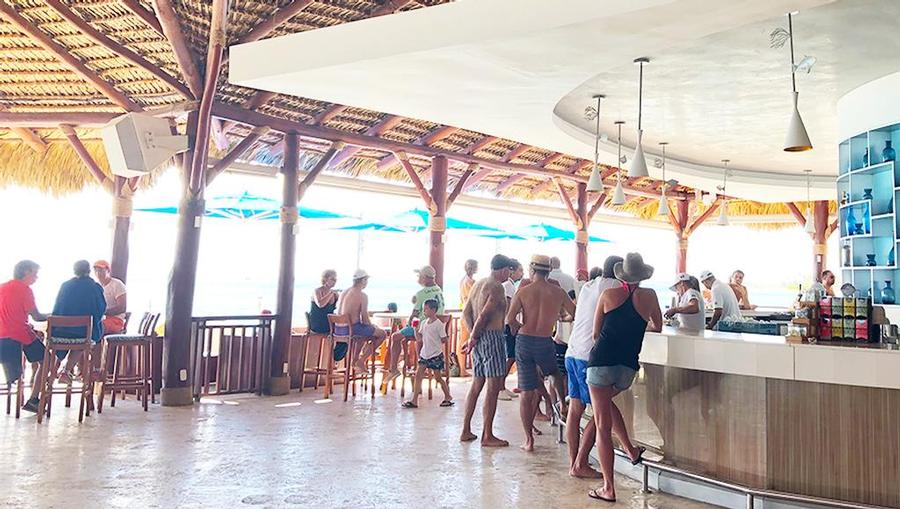 A bar at Club Med Punta Cana