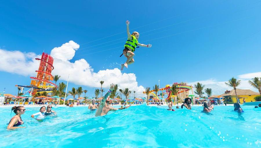 The Wave Pool at CocoCay Island