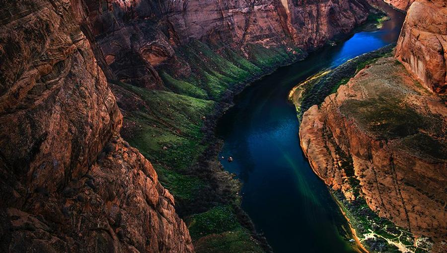 Colorado River is the most stunning view you can imagine.