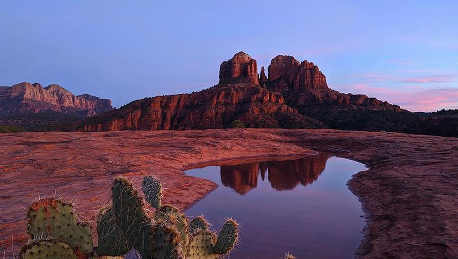 Plan a vacation to Sedona for this year.