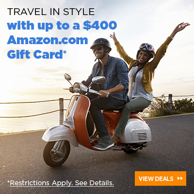 Up to a $400 Amazon.com Gift Card*