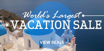 Exclusive World's Largest Vacation Sale